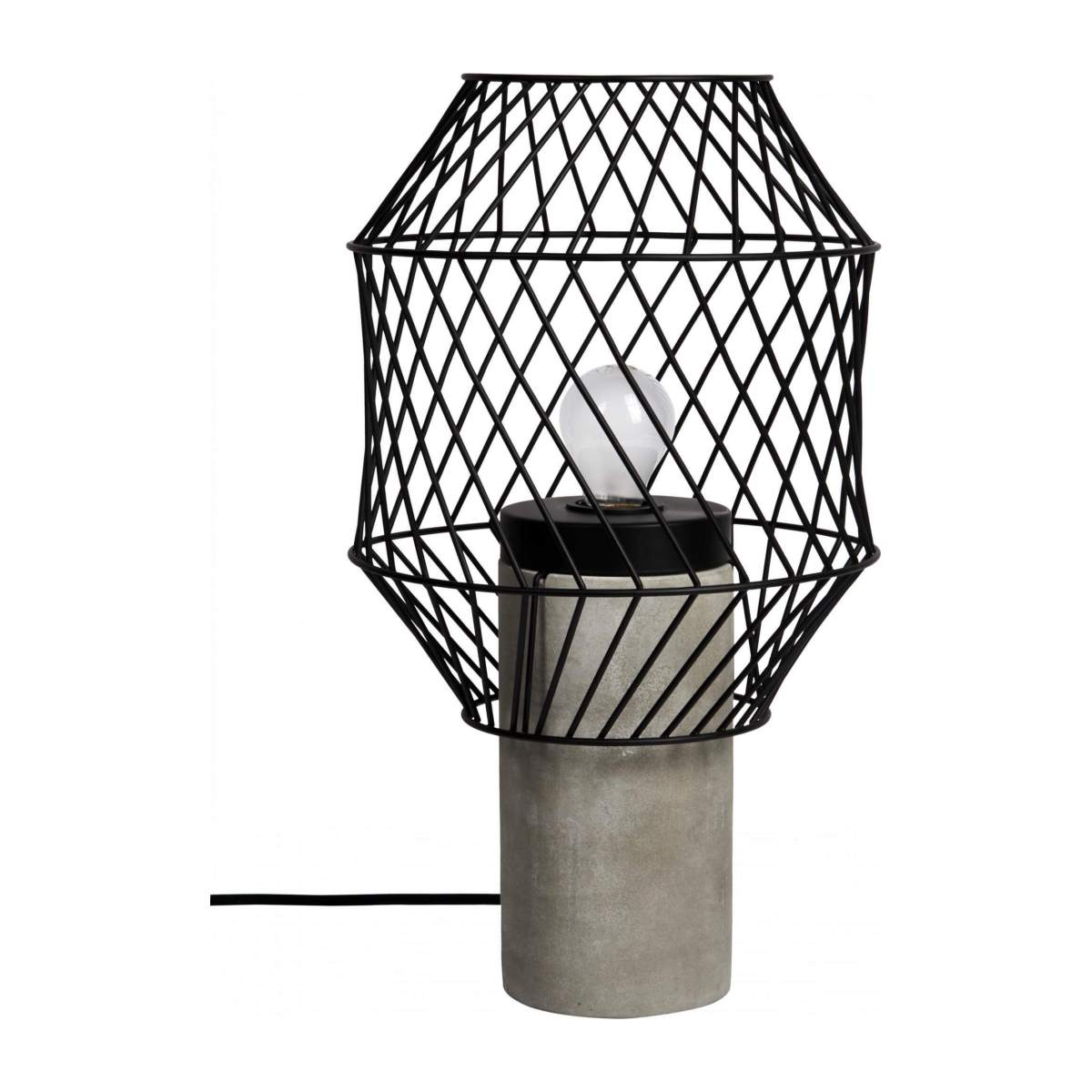 Metal table lamp n°4