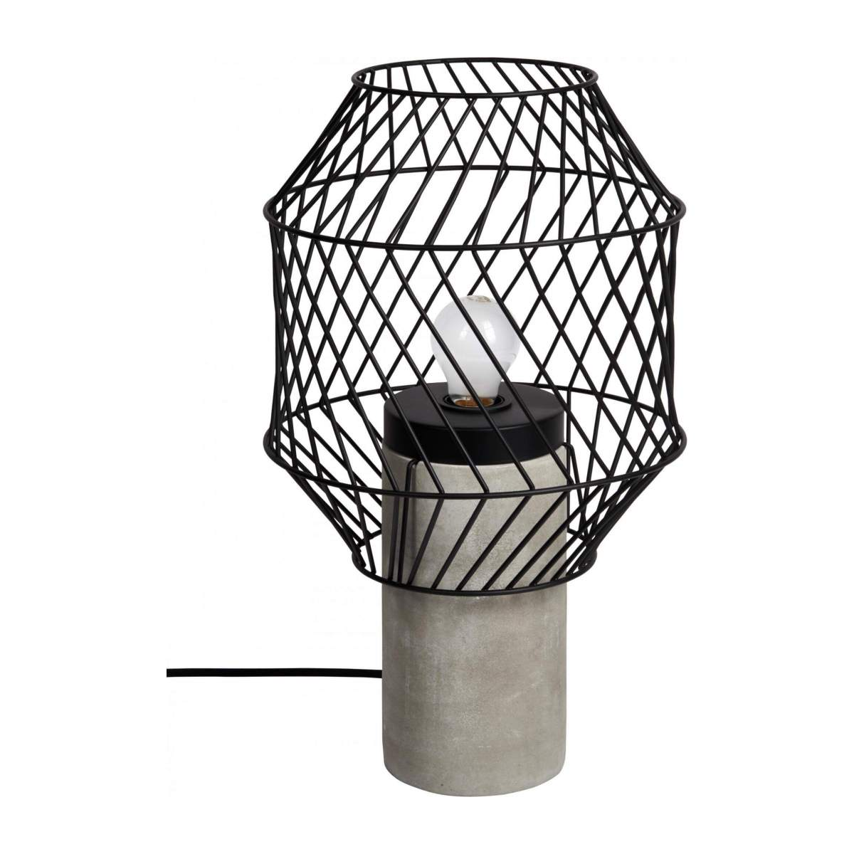 Metal table lamp n°2