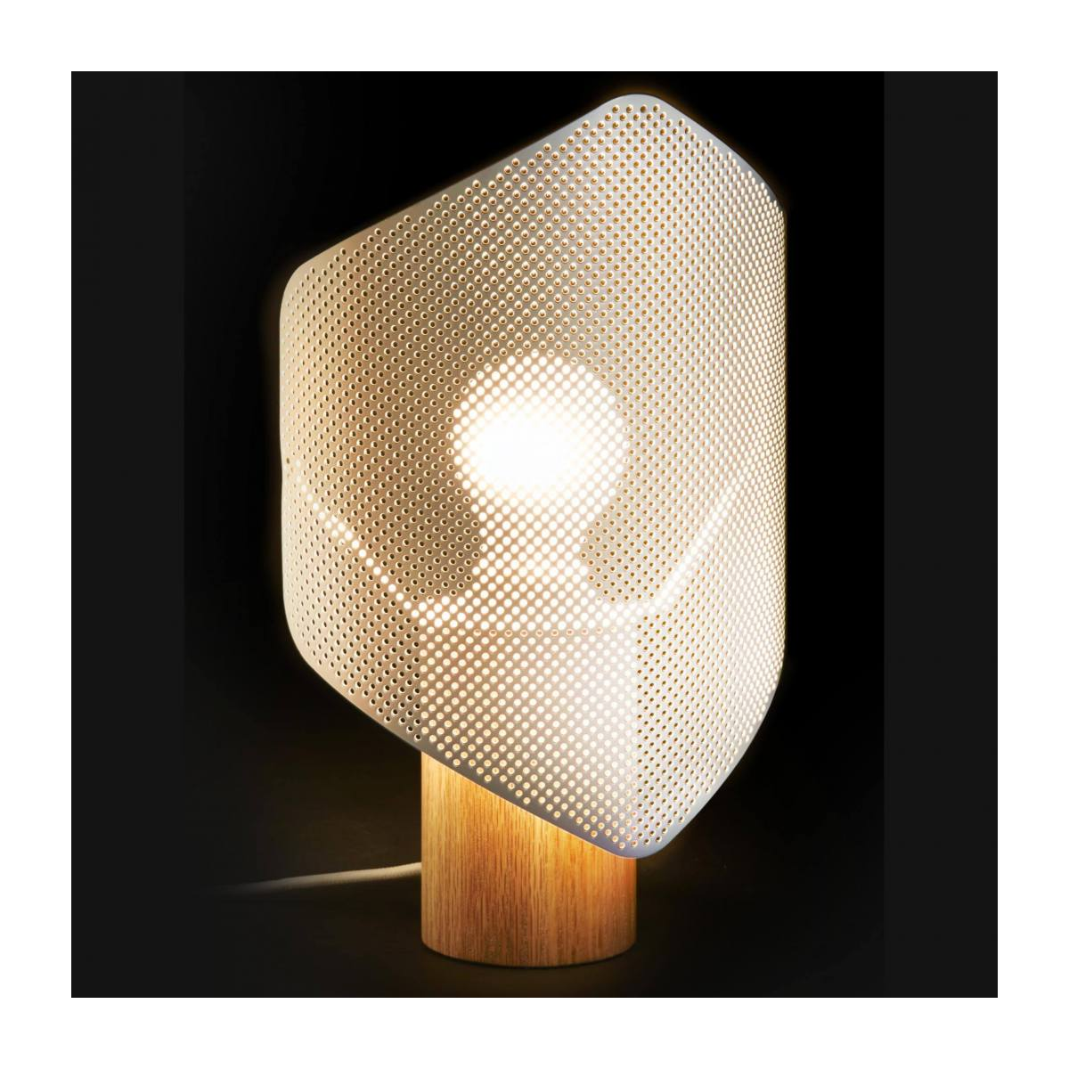 White table lamp n°2