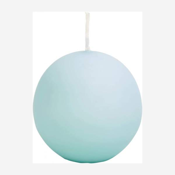 Ball candle 6cm, blue