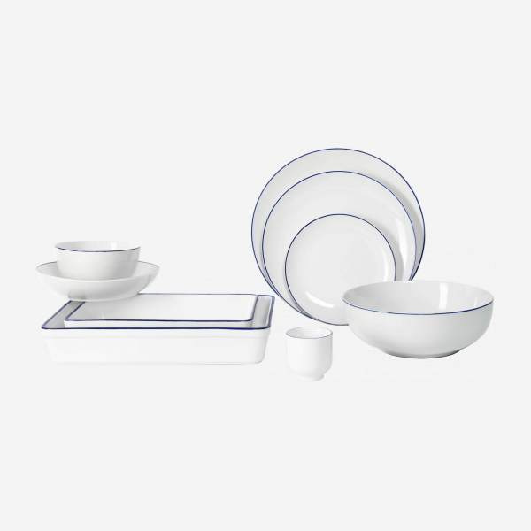 Tableware, pack of 38 pieces