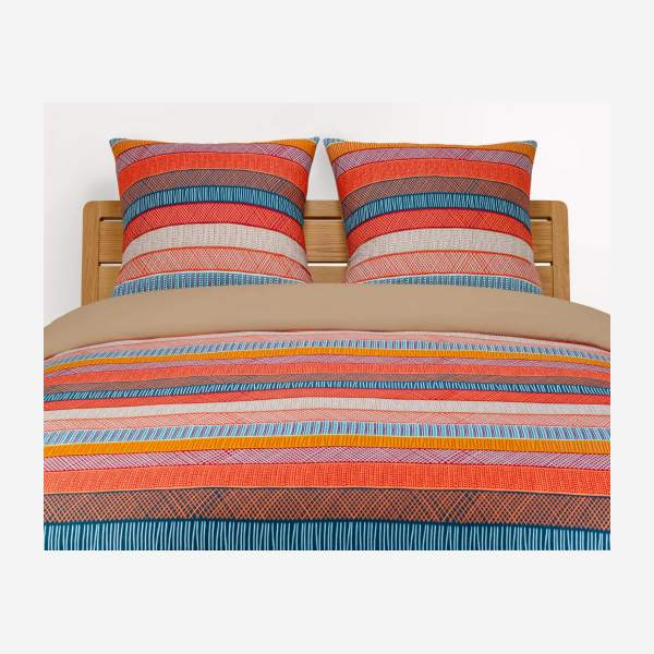 Duvet cover 240x200, coral