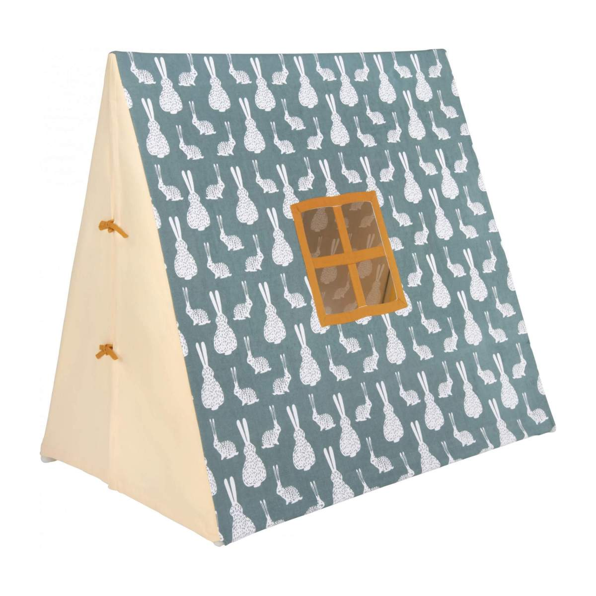 Tent made of cotton, bunny pattern n°1