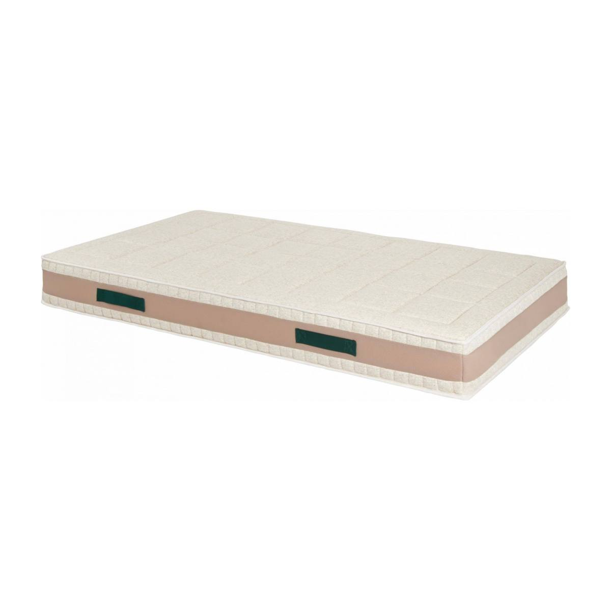 Latex mattress , width 23 cm, 90x200cm - firm support n°1