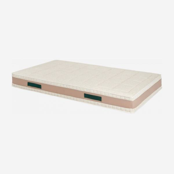 Latex mattress , width 23 cm, 90x200cm - firm support