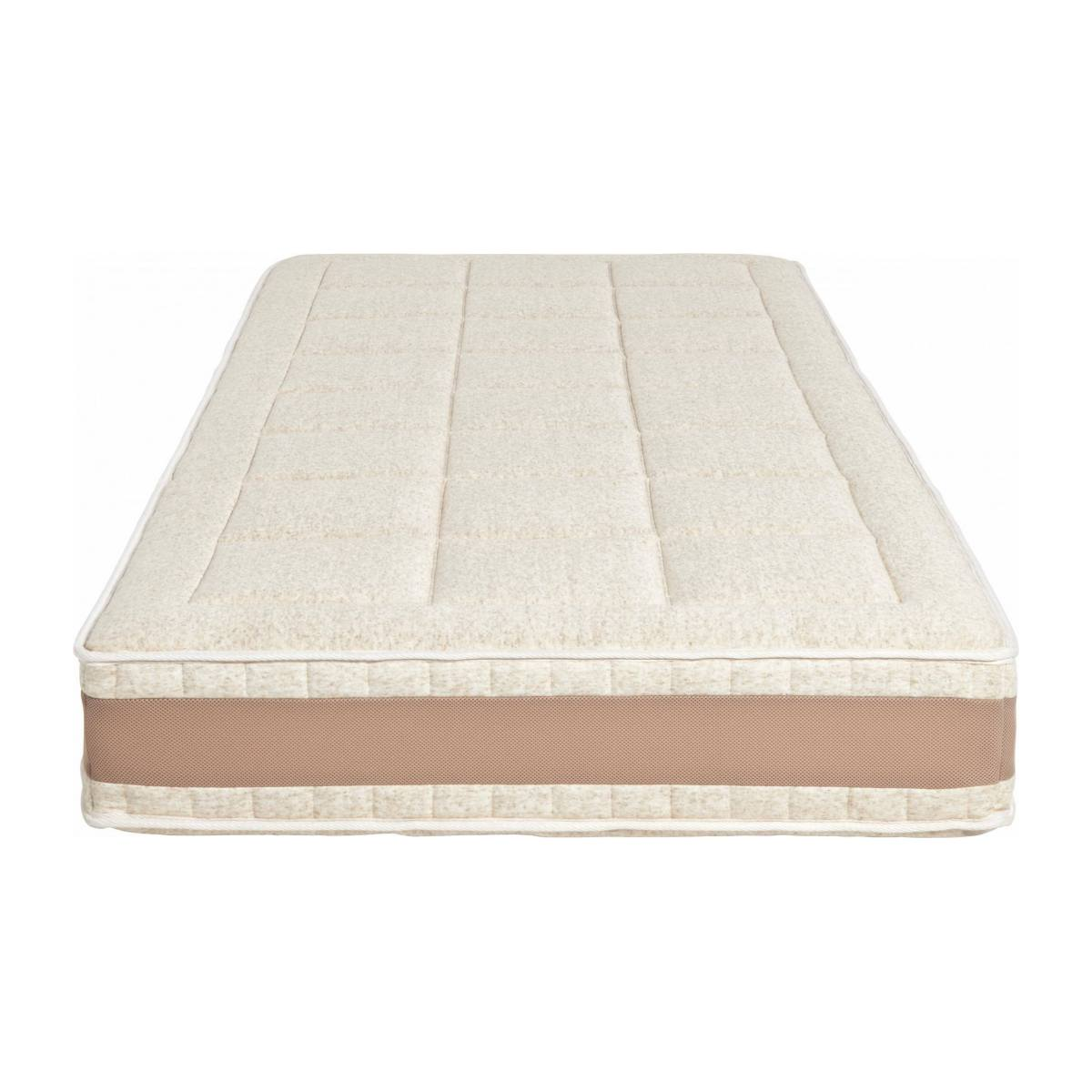 Latex mattress , width 23 cm, 90x200cm - firm support n°2