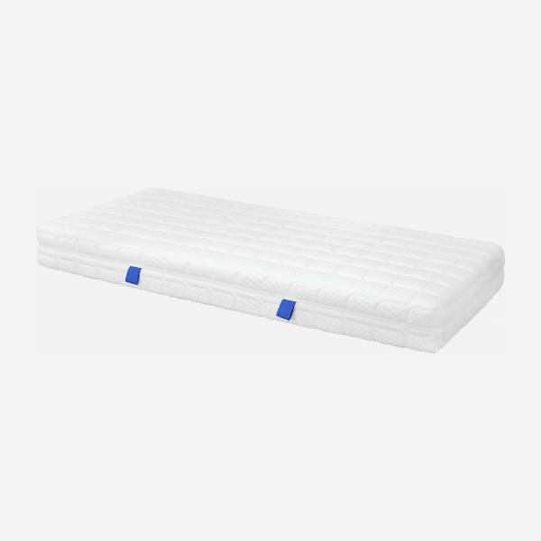 Spring mattress, width 22 cm, 90x200cm - medium support