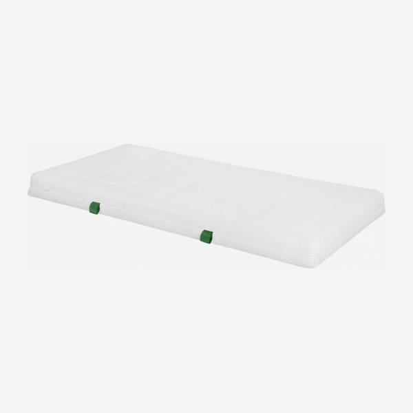 Matelas en latex, width 16 cm, 90x200cm - medium support