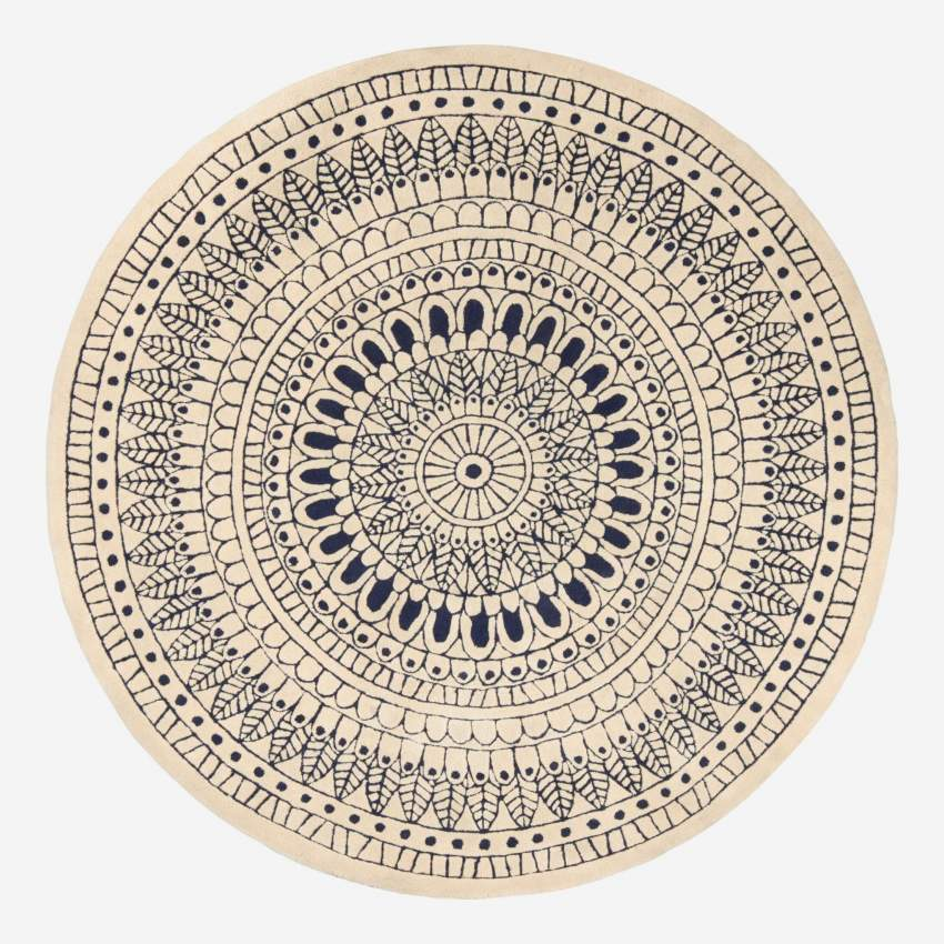 Round tufted carpet 200cm