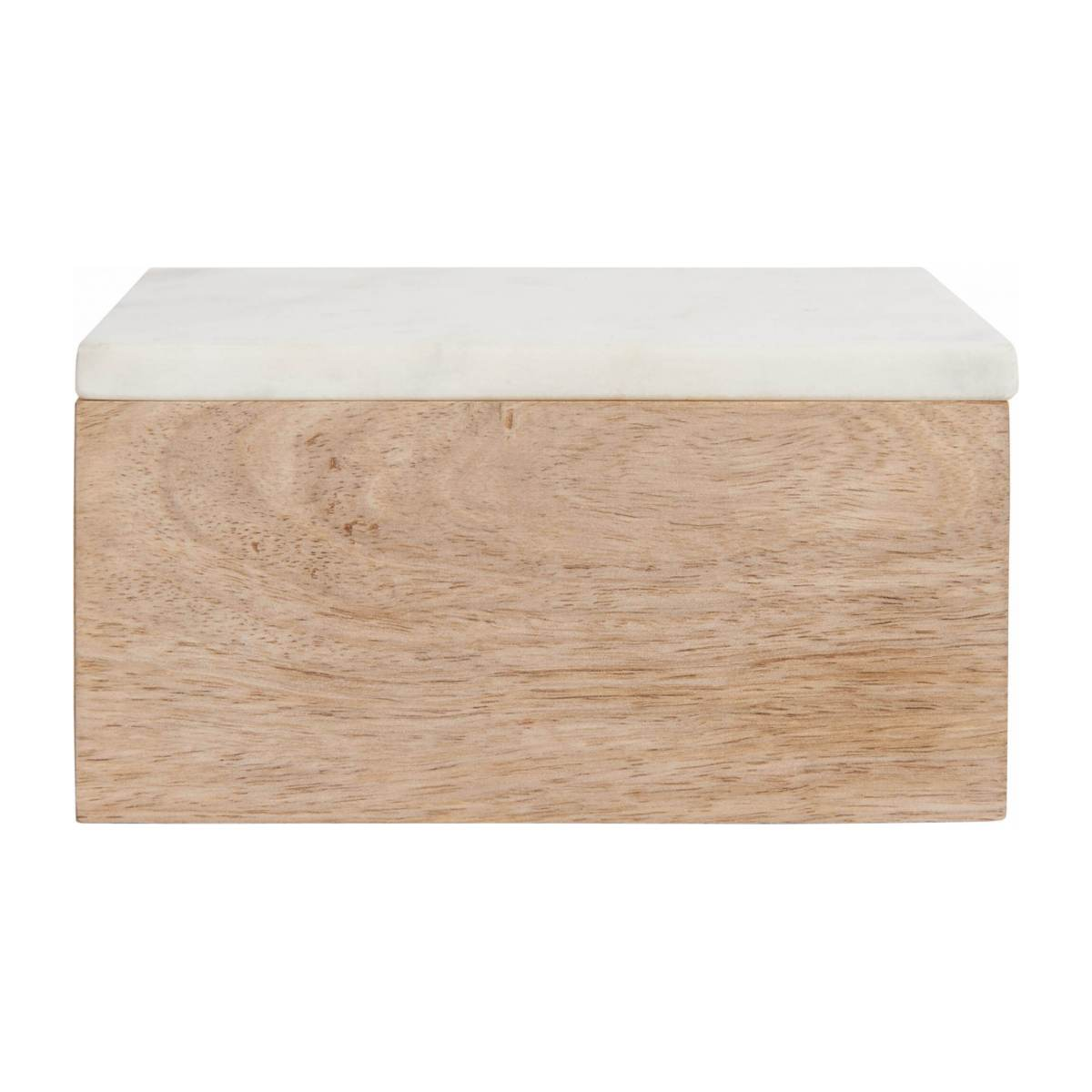 Box made of wood and marble n°2