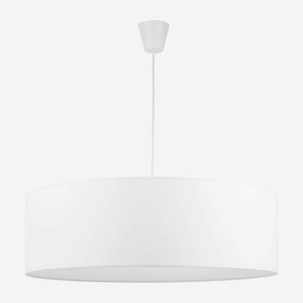 Giant lampshade, white