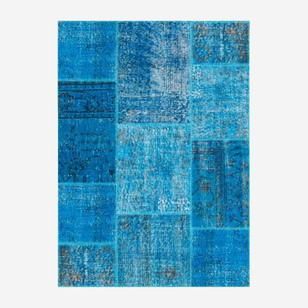 Carpet made of wool 130x180, turquoise