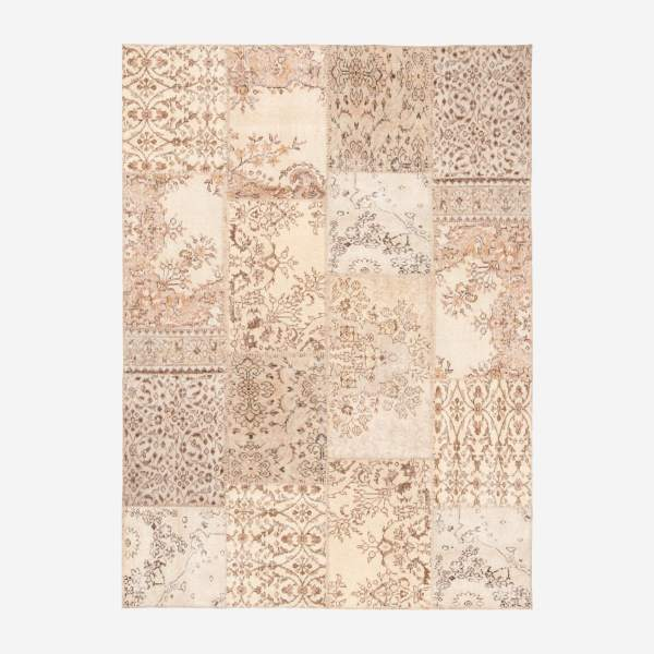 Carpet made of wool 160x220, beige