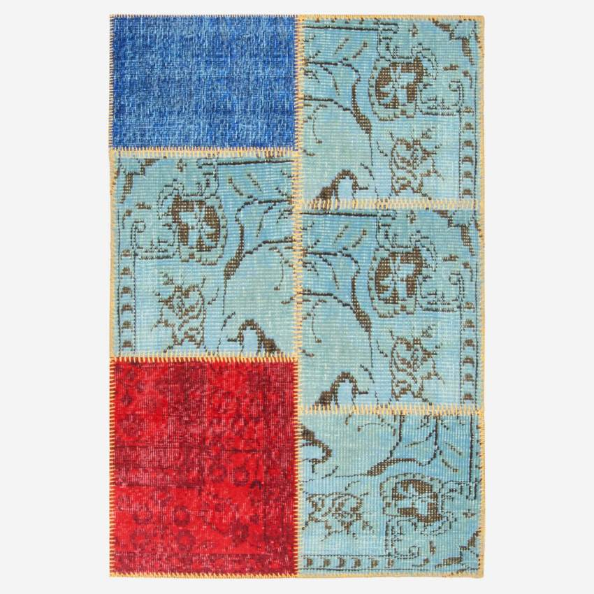 Carpet made of wool 80x120, multicolor