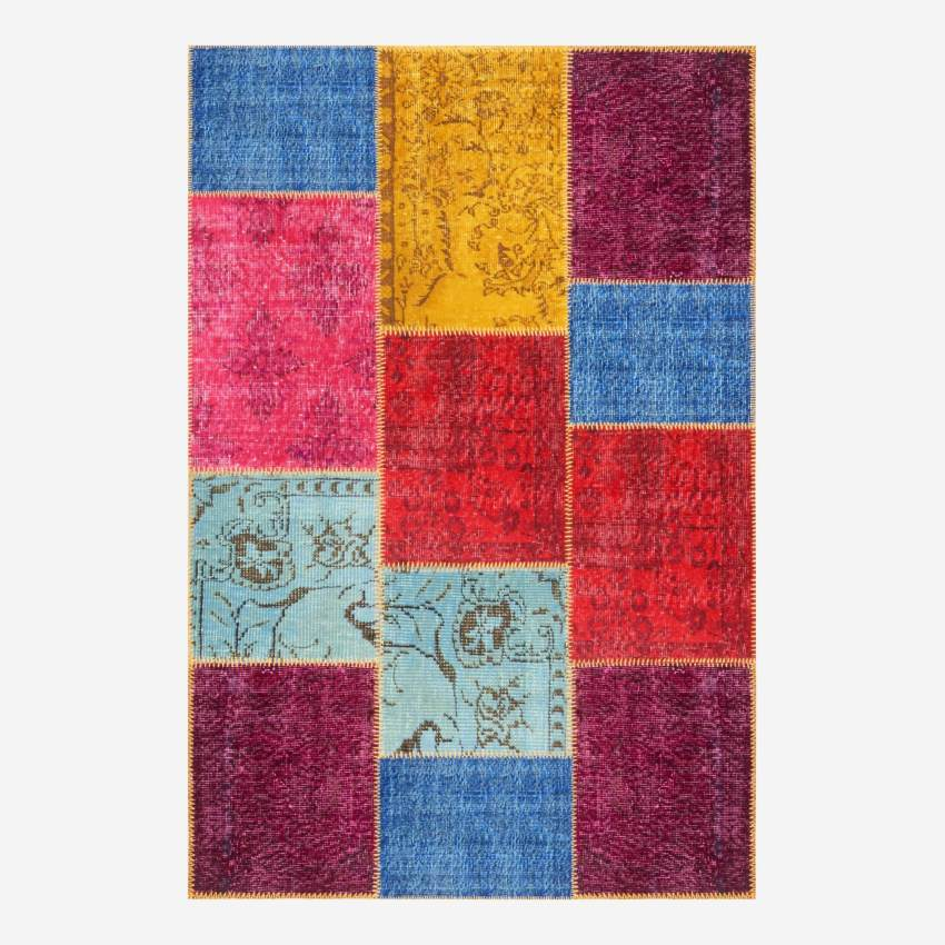 Carpet made of wool 120x180, multicolor
