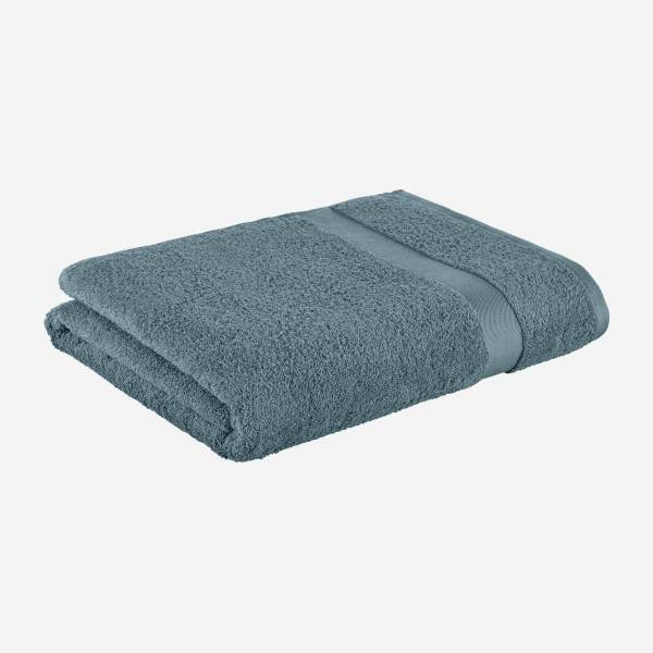Bath sheet 100x165cm, blue