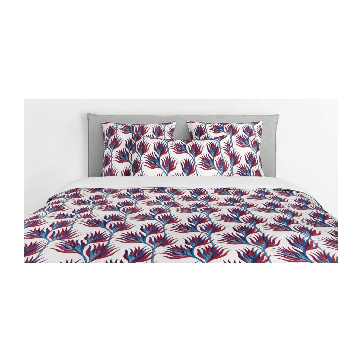 Duvet cover made of cotton 200x200cm, with patterns n°1