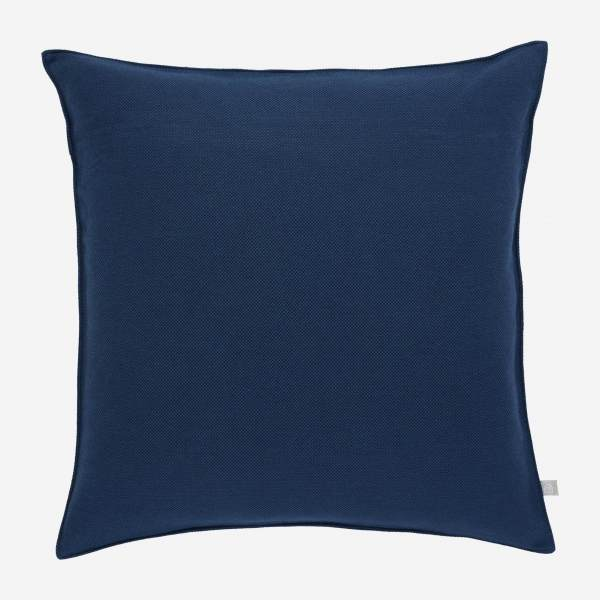 Navy blue cushion 50x50cm