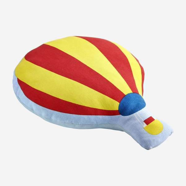 "Child's ""hot-air balloon"" cushion"