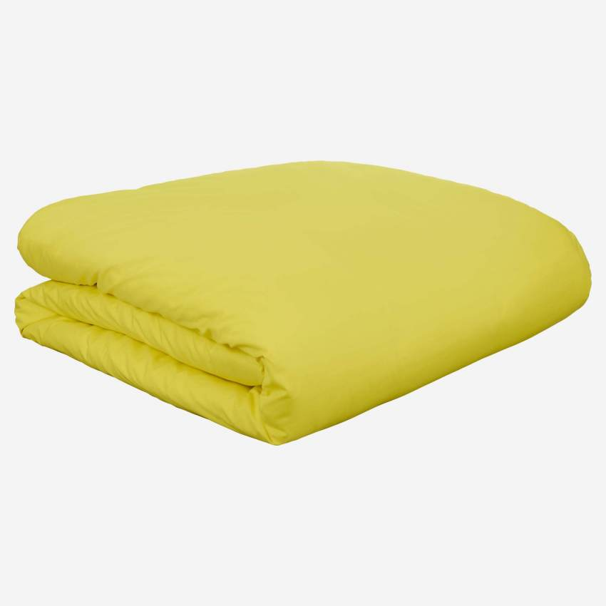 Fitted sheet 200x200, yellow
