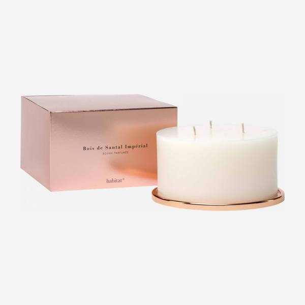 Very large sandalwood scented candle