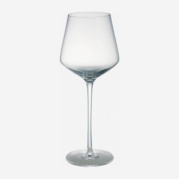 white wine glasses, x4