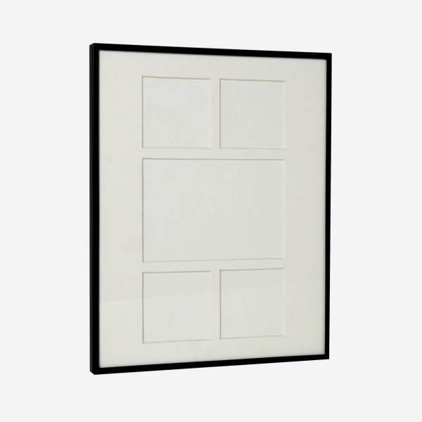 Picture frame holding 6 photos
