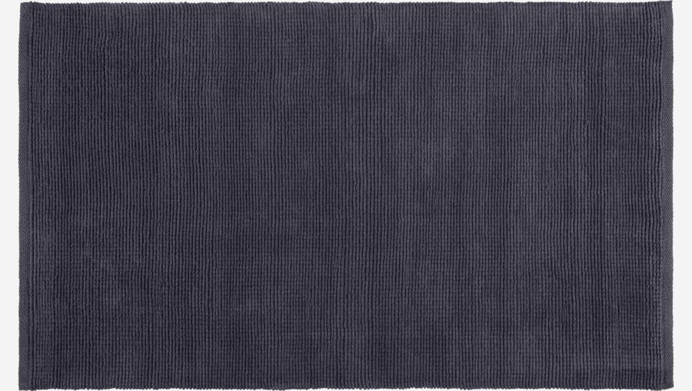 Small textured cotton rug