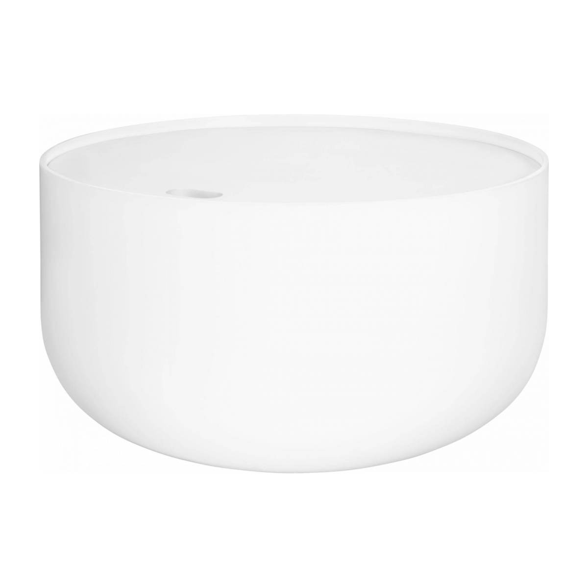 Table d'appoint 60cm blanche n°2