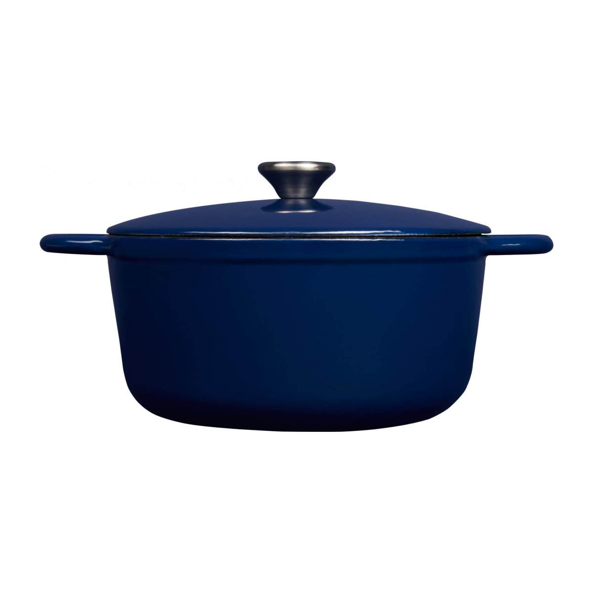 Cast iron cooker 23 cm, blue n°3