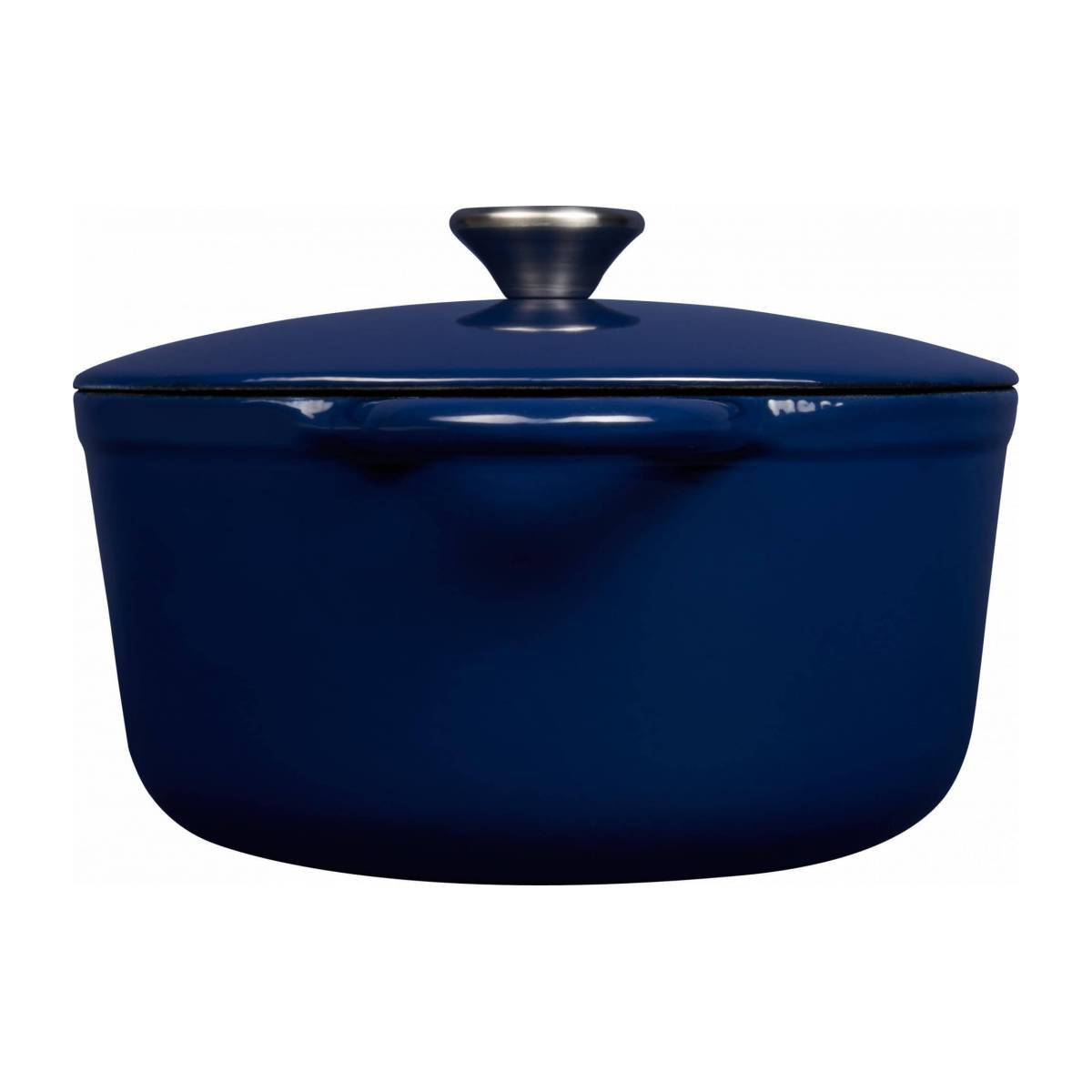 Cast iron cooker 23 cm, blue n°4
