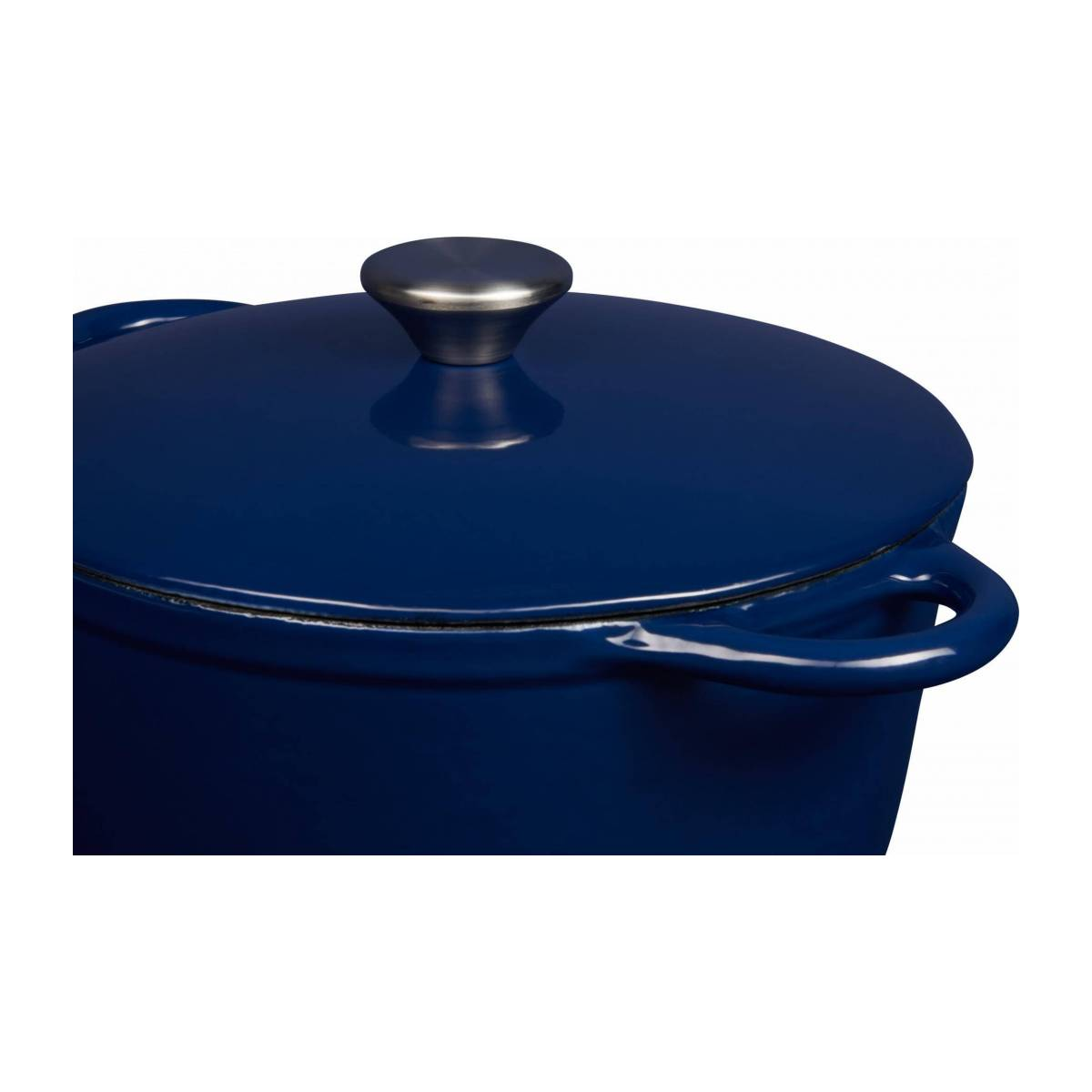 Cast iron cooker 23 cm, blue n°5