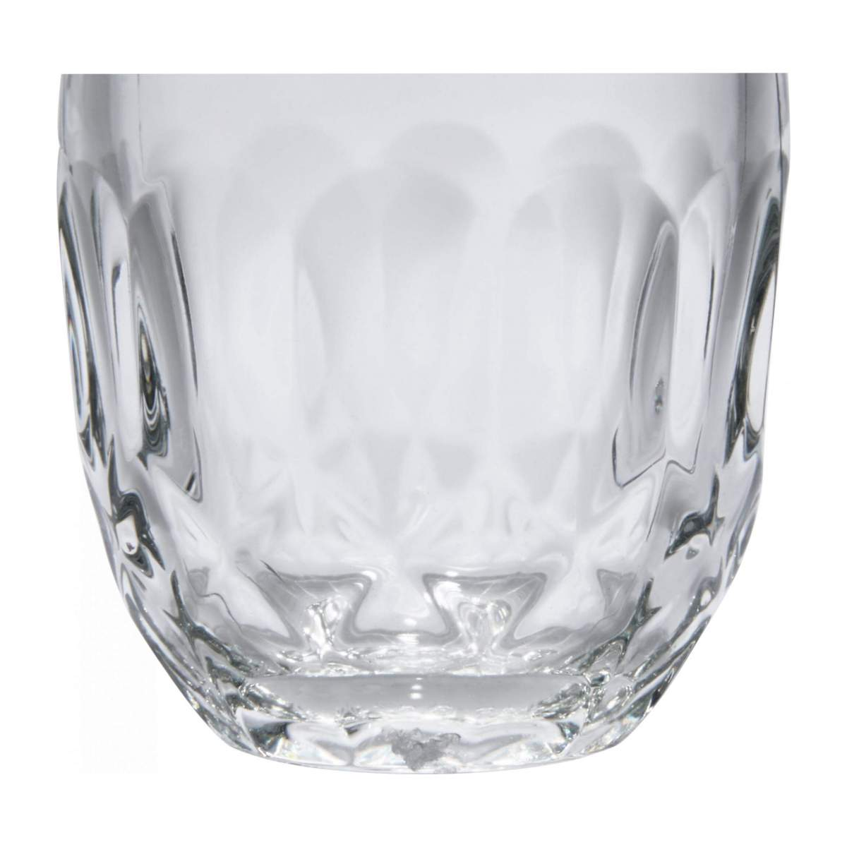 Expresso cup made of glass with facets n°2