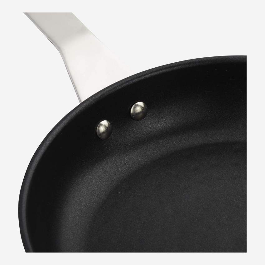Non-stick pan 24 cm in stainless steel