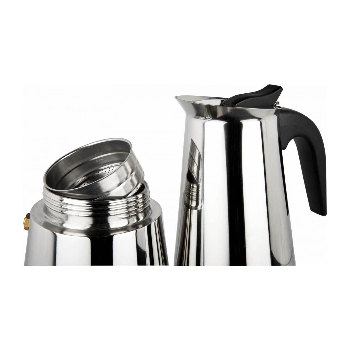 Stainless steel coffee maker n°8