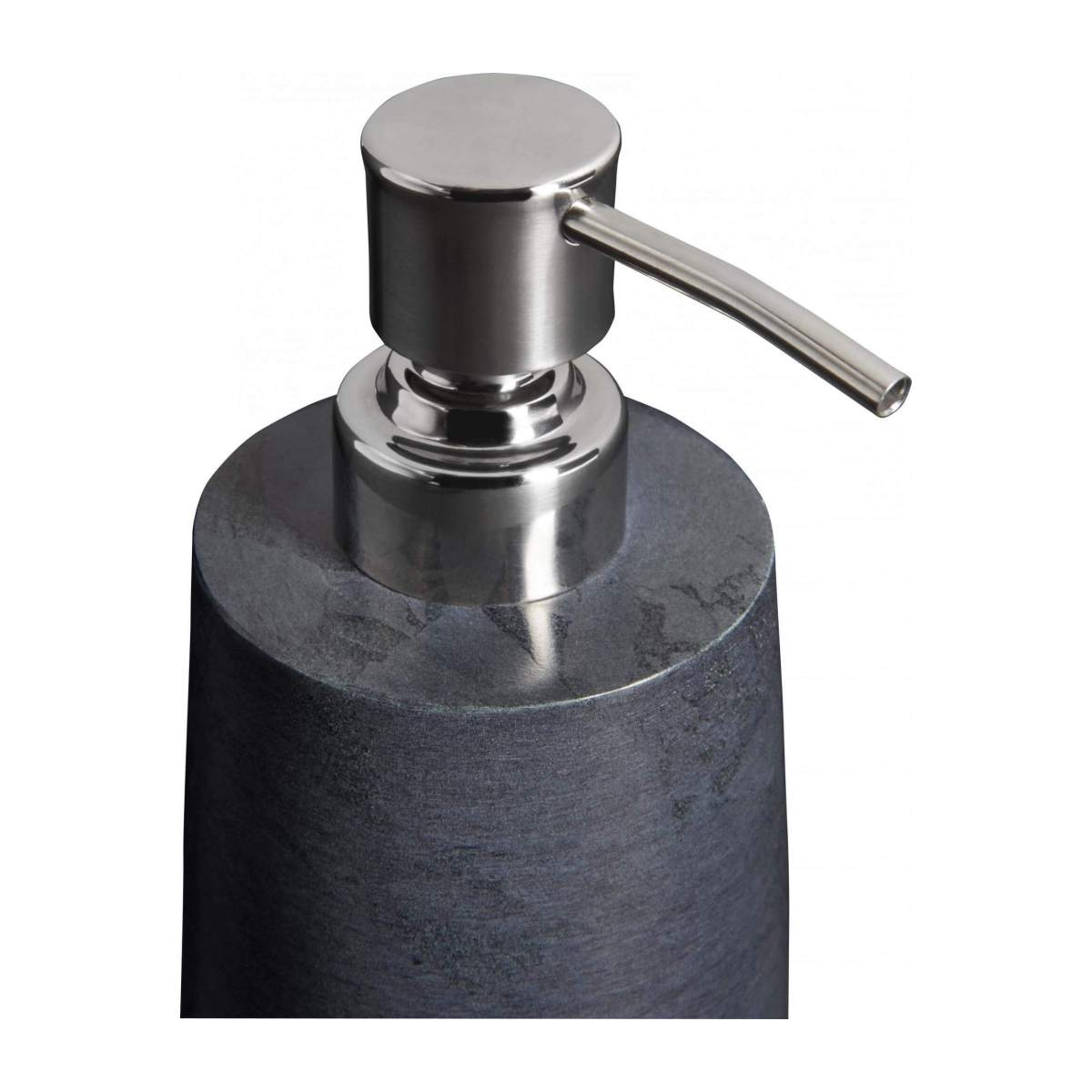 Grey soapstone soap dispenser n°4