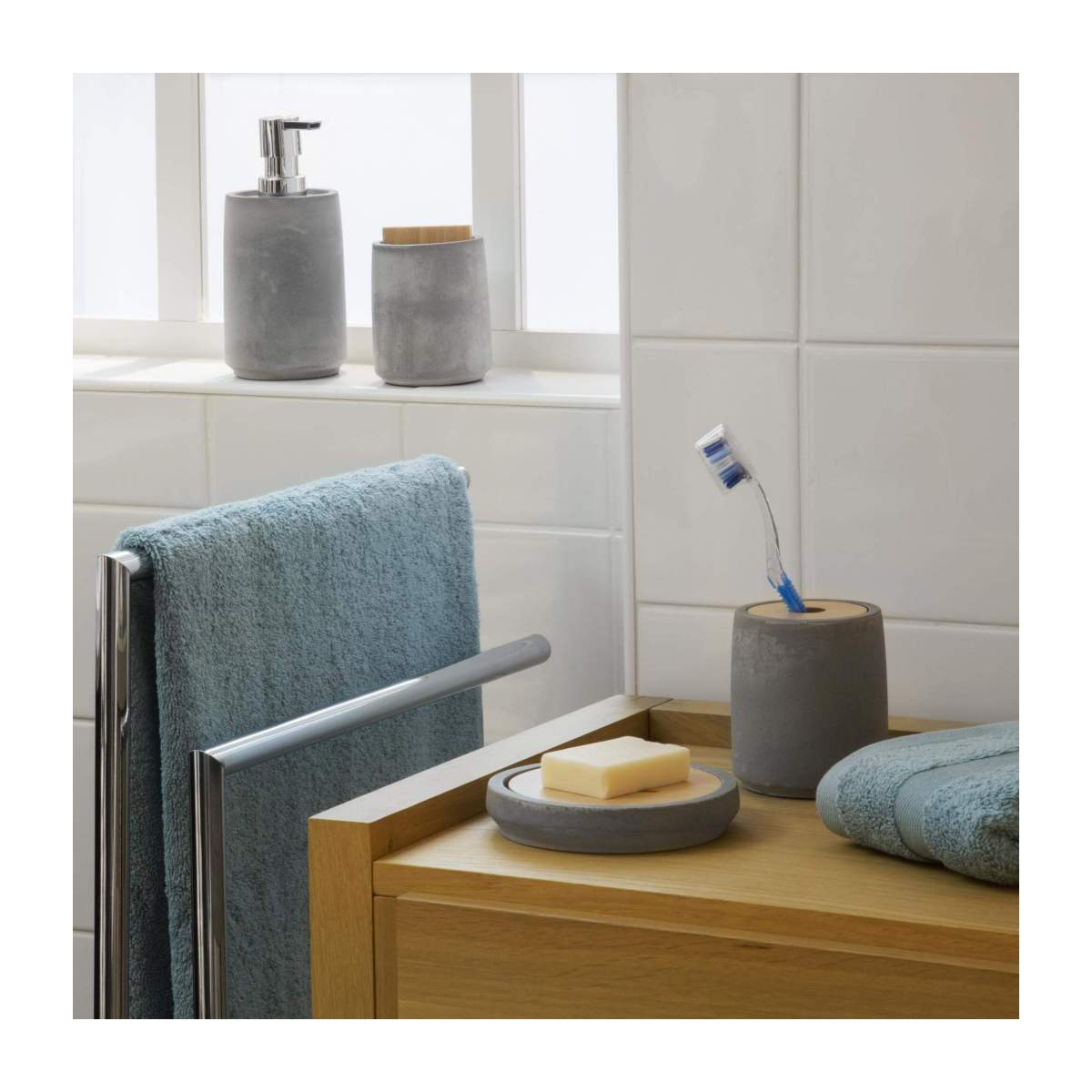 Cement soap dish n°6