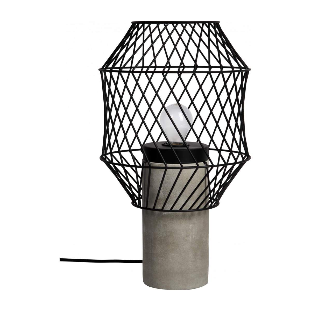 Metal table lamp n°5