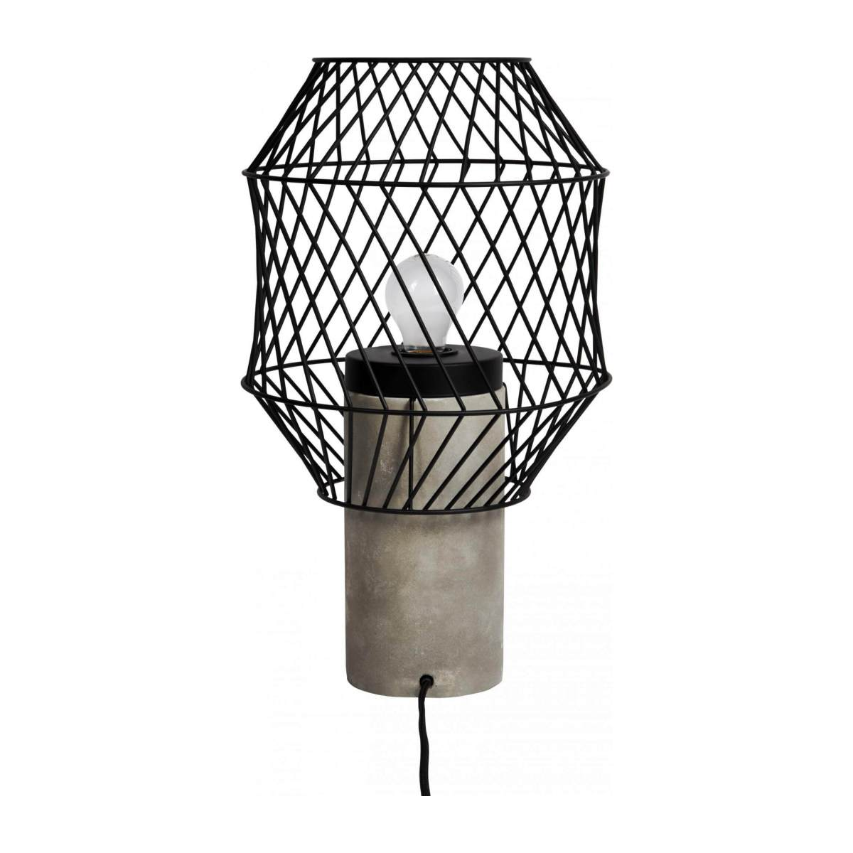 Metal table lamp n°6