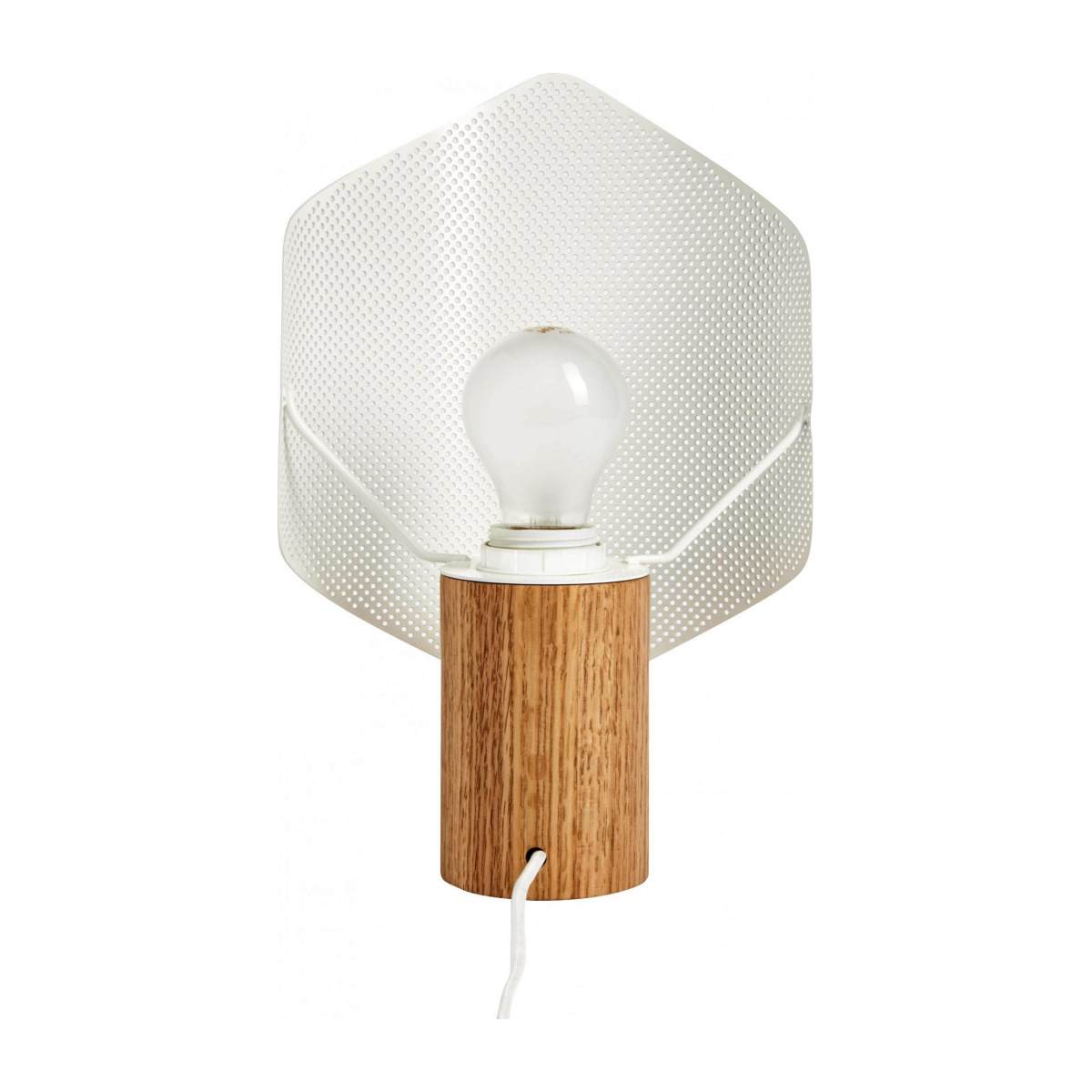 Lampe de table blanche n°5