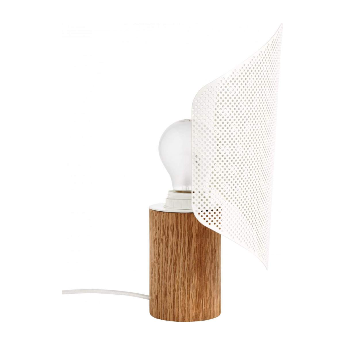 Lampe de table blanche n°6