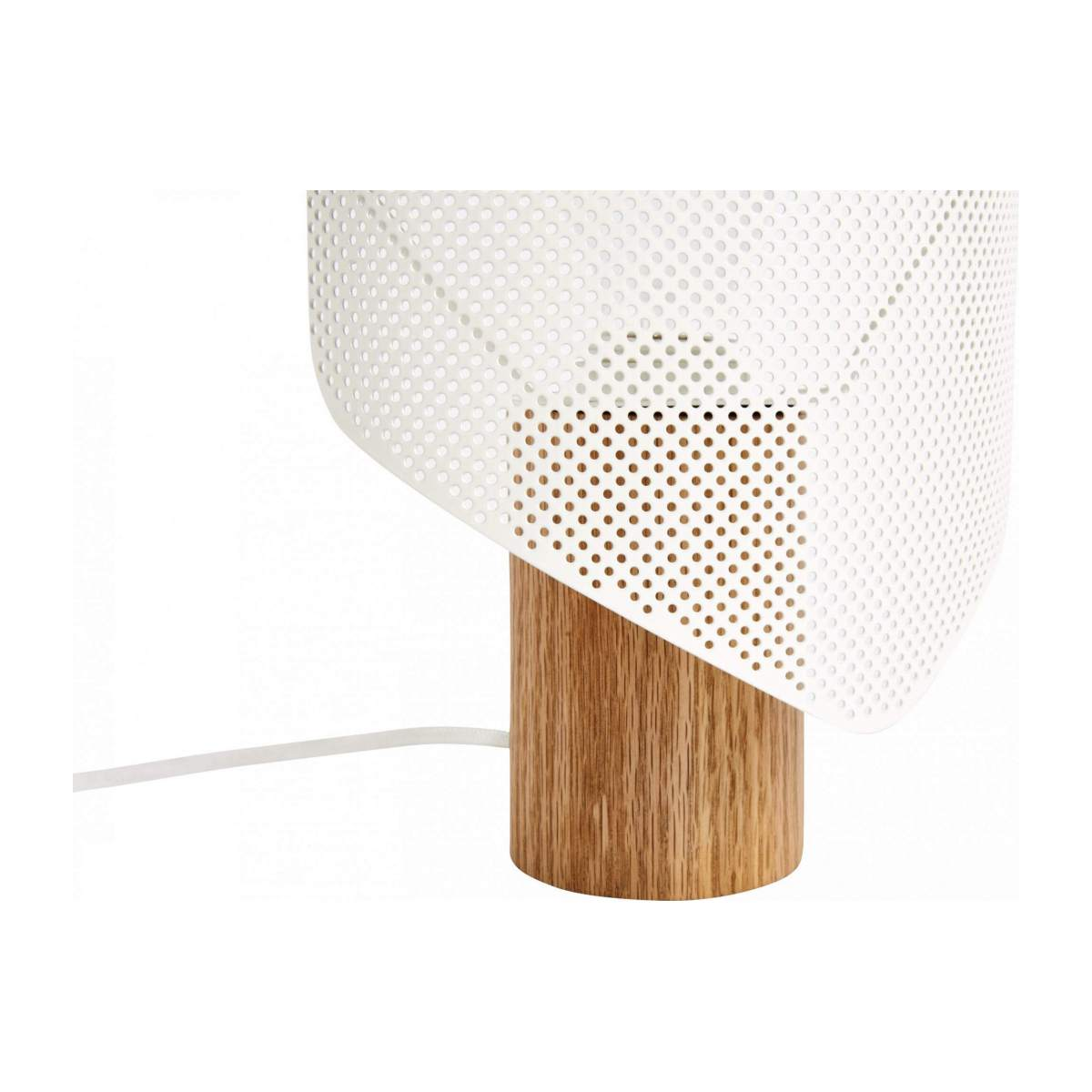 White table lamp n°8