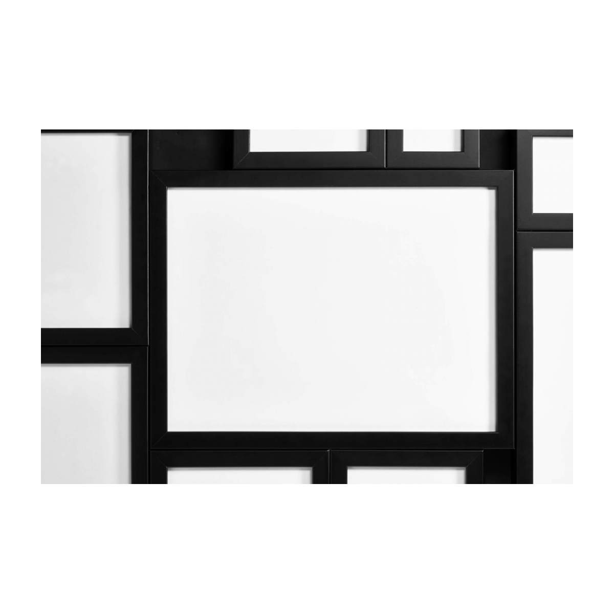 Wall-mounted multiple photo frame n°7