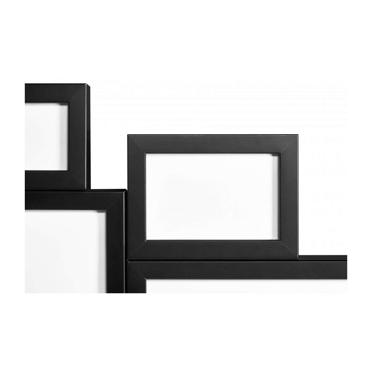 Wall-mounted multiple photo frame n°9