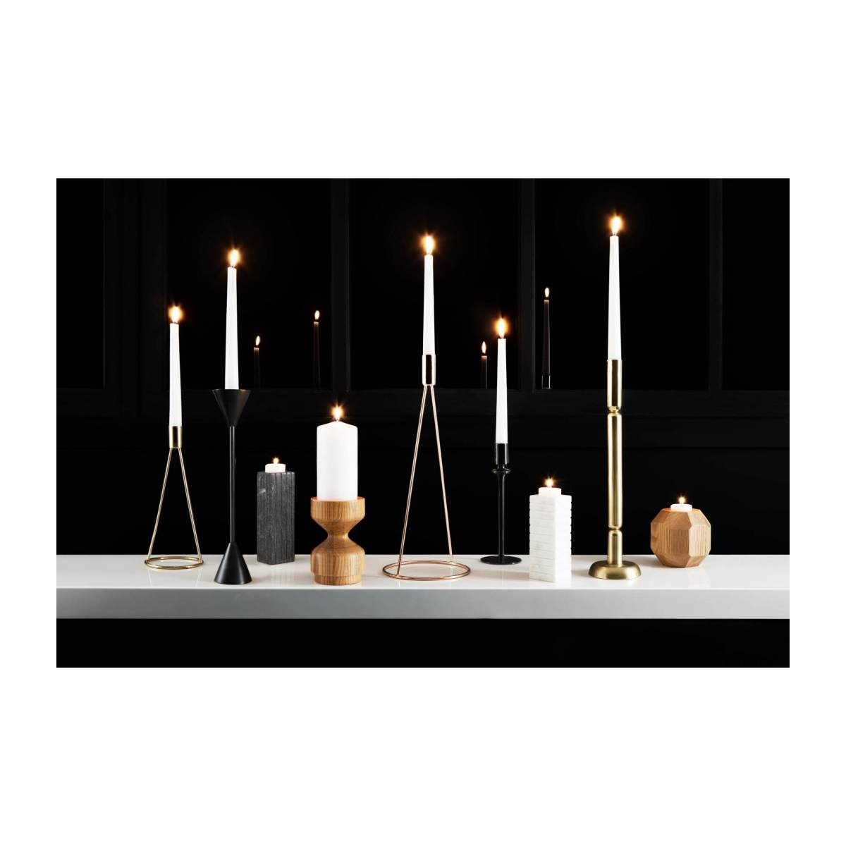 Marble candlestick n°4
