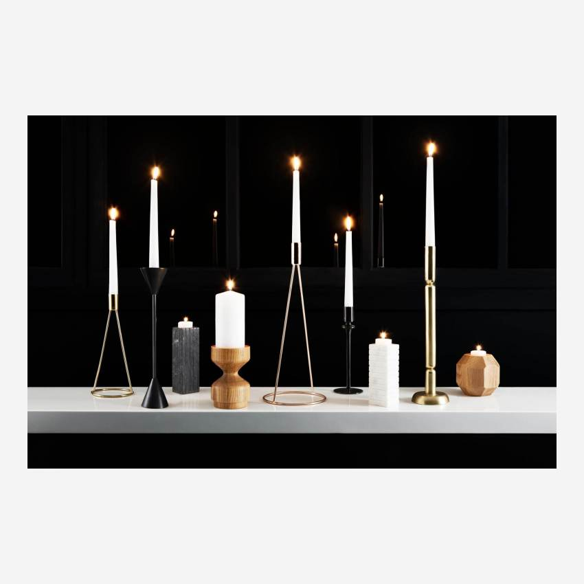 Marble candlestick