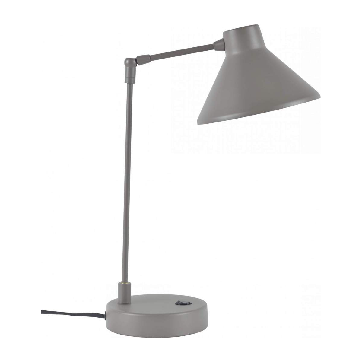 Steel desk lamp, brown n°4
