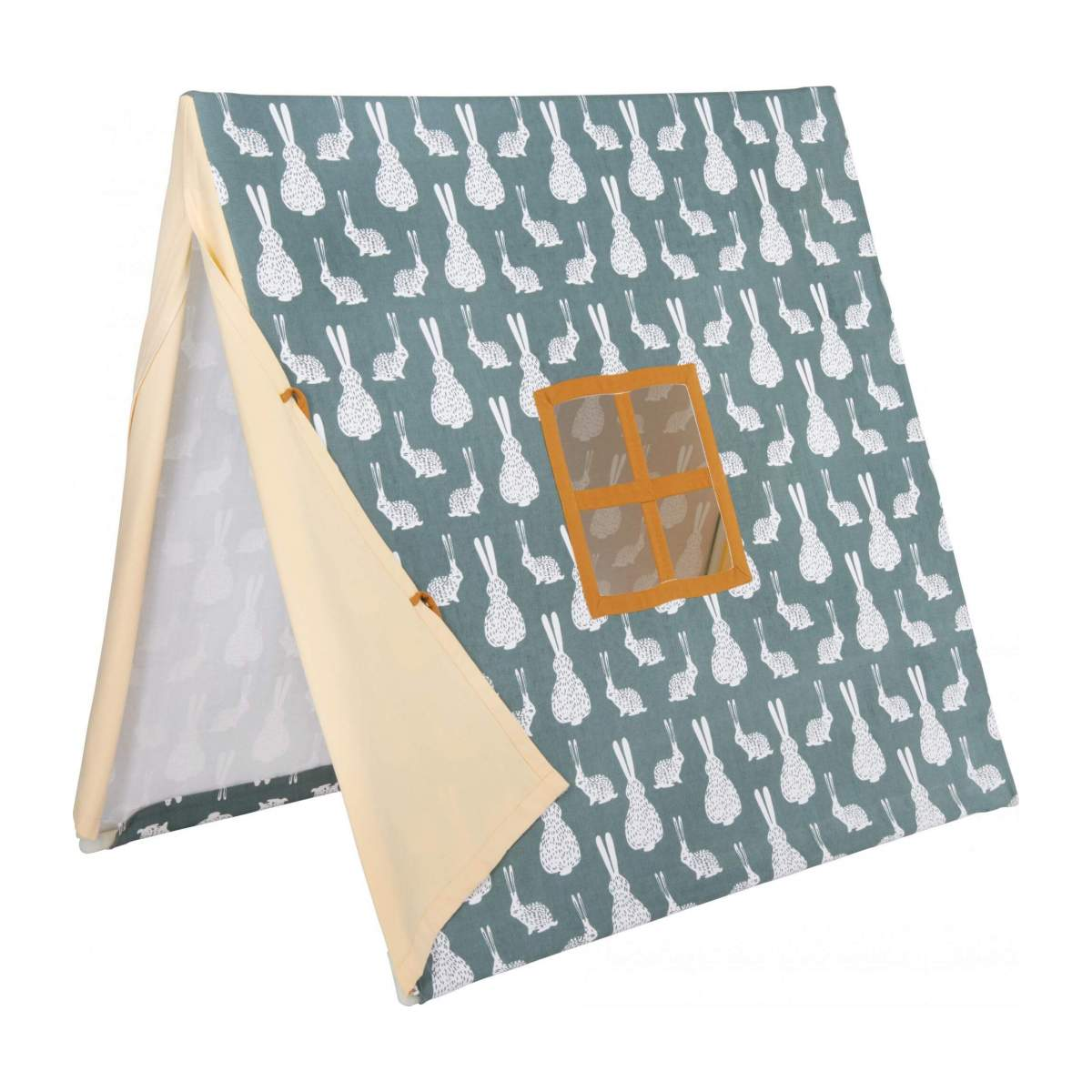 Tent made of cotton, bunny pattern n°7
