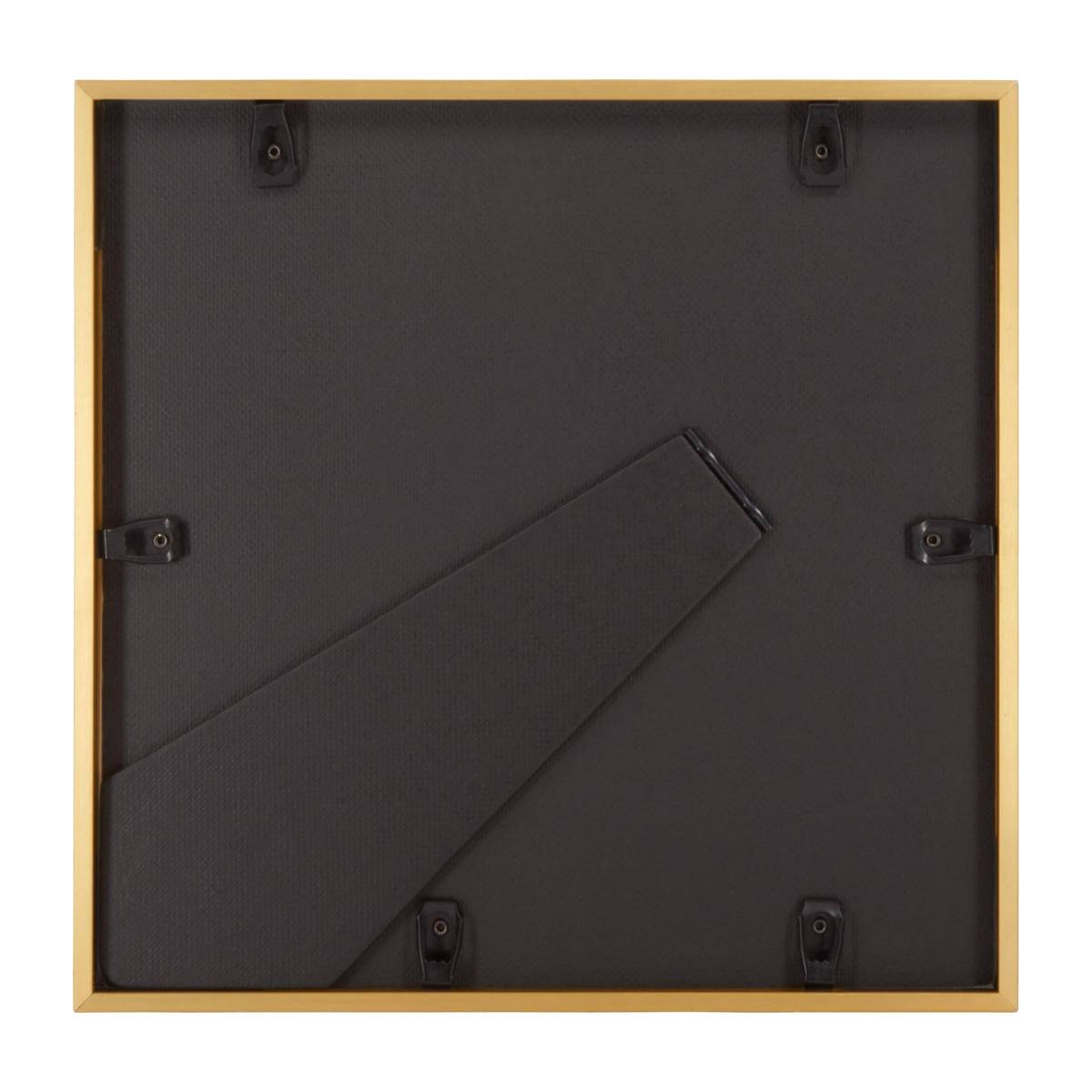 Photo frame made of metal 28X28, golden n°3