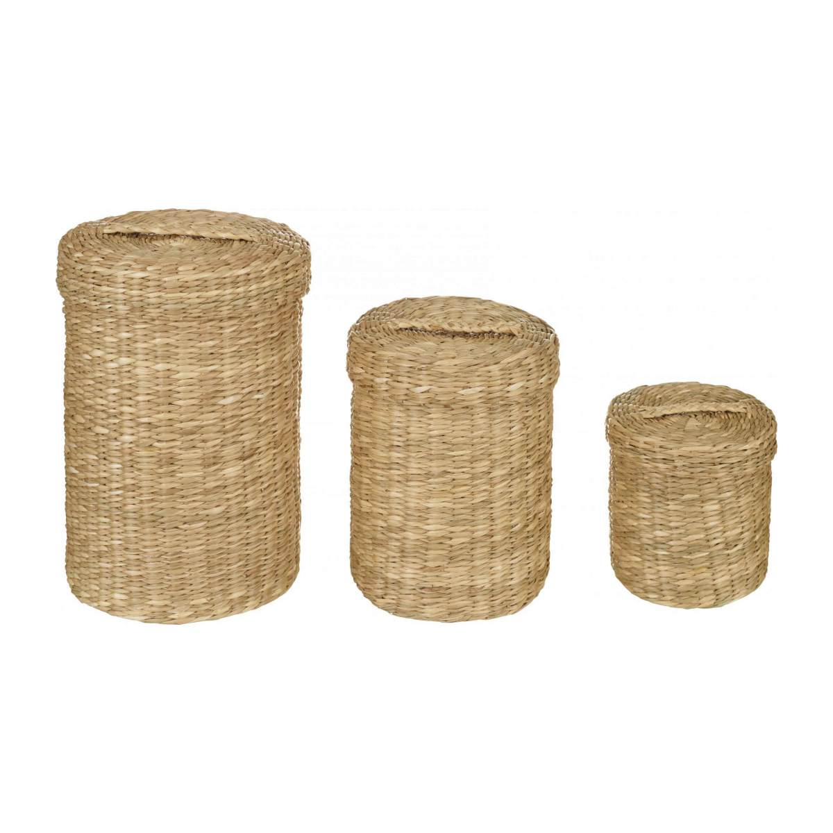 Seagrass Mini Baskets with lids n°4